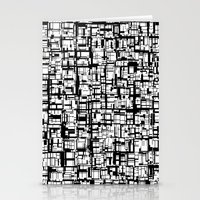 Abstract Mosaic  Stationery Cards