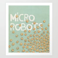 microrobo Art Print