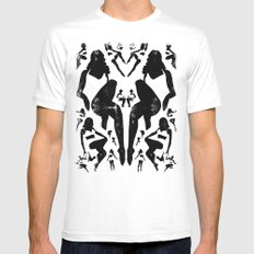 Rorshach Vacation Mens Fitted Tee White SMALL