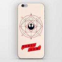 Rebel Now! iPhone & iPod Skin