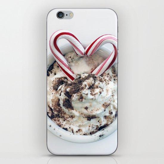 i heart hot chocolate iPhone & iPod Skin