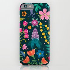 Floral Heart Slim Case iPhone 6s