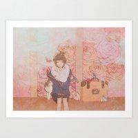Moonstruck Art Print