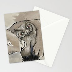 Lion and Owl Stationery Cards