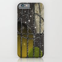 iPhone & iPod Case featuring Owl in a Birdcage by AZerhusen