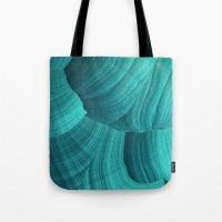 Turquoise Sediment Tote Bag