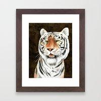 Silent Stalker - Tiger Framed Art Print