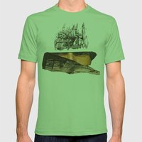 Veil V Mens Fitted Tee Grass SMALL