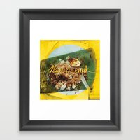 Fatty Rice Framed Art Print