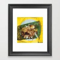Fatty Rice Framed Art Print