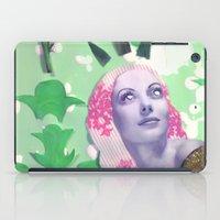 Victorian Green iPad Case