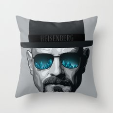 Breaking Bad Heisenberg Throw Pillow