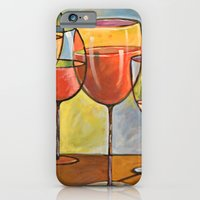 Whites and Reds ... abstract wine art iPhone 6 Slim Case
