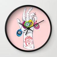 No Life Wall Clock