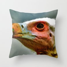 Ethel The Vulture Throw Pillow