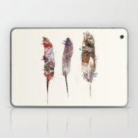Peace Feathers Laptop & iPad Skin