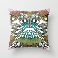 Ubiquitous Bird Collection2 Throw Pillow