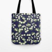 April Blooms(Dogwoods_bl… Tote Bag
