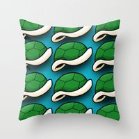 Shell. Throw Pillow