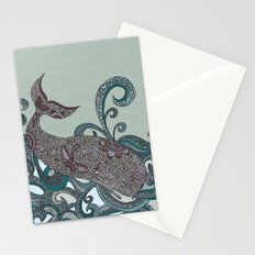 Deep Blue Me Stationery Cards