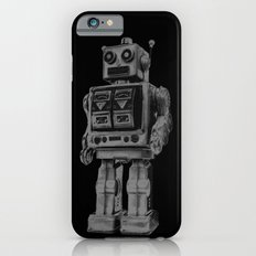 Vintage robot iPhone 6s Slim Case