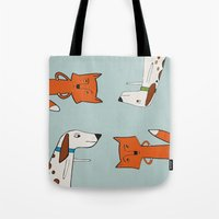 The Fox And The Hound Lo… Tote Bag