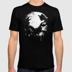 Dark Moon Mens Fitted Tee Black SMALL