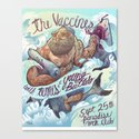 The Vaccines (band poster) Canvas Print