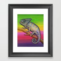 Chameleon (2) Framed Art Print