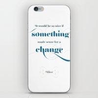 If something made sense iPhone & iPod Skin