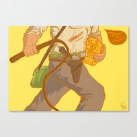 Golden Idol Canvas Print