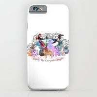 Giddy-Up Fairytale Cowgirl Characters iPhone 6 Slim Case