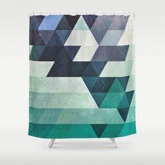 aqww hyx Shower Curtain