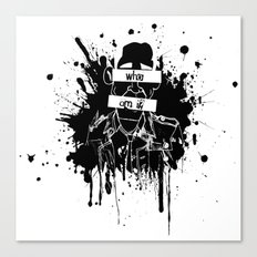 GuessWho? *remastered* Canvas Print