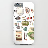 iPhone & iPod Case featuring Let's Go Camping by Brooke Weeber