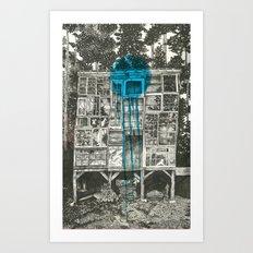 Shot Down Art Print