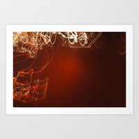 Crystalize. Art Print