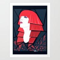 FLO Art Print