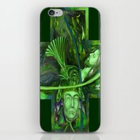 Religion Green iPhone & iPod Skin