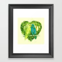 I Love You @Tweet Framed Art Print