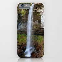 iPhone & iPod Case featuring Lower Falls of Hills Creek by Smileyface Photos
