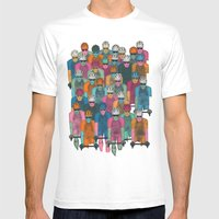 Pack (Peloton) Mens Fitted Tee White SMALL