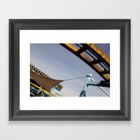 roller Framed Art Print