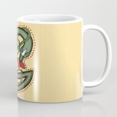 Celtic Dragon Letter G Mug