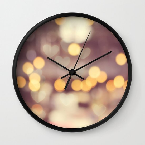 Enchanted Evening Wall Clock