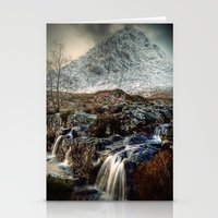 The Buachaille Etive Mor, Scotland Stationery Cards