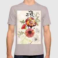 Botanical 1 Mens Fitted Tee Cinder SMALL