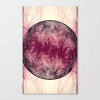 Saturn Nebula Abstract  Canvas Print