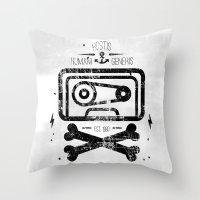 Pirate Tape Throw Pillow
