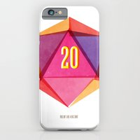 iPhone & iPod Case featuring Rolling D20's Like A Big Shot  by Tuff Industries
